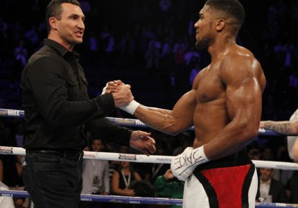 Joshua vs Klitschko Official for April 29 at the Wembley Stadium in London