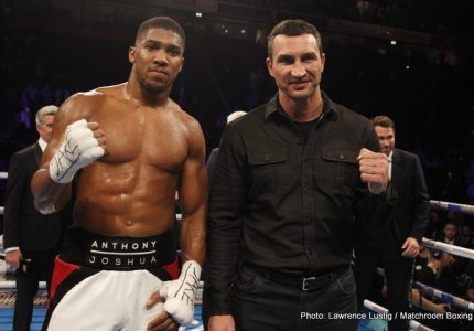 Anthony Joshua vs Wladimir Klitschko is on for April, but will this fight deliver?