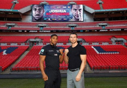 50K tickets already sold for Joshua-Klitschko fight