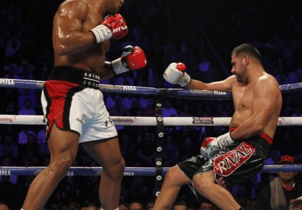 Results: Joshua slaughters Molina