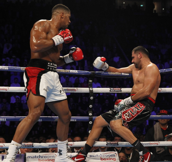 Anthony Joshua Boxing Interviews Boxing News Top Stories Boxing