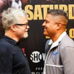 Jesus Cuellar - Four of the top trainers in the sport, Freddie Roach, Robert Garcia, Ronnie Shields and Stephen Edwards met with media in Los Angeles to discuss their fighters' respective showdowns this Saturday, December 10 from Galen Center at USC and live on SHOWTIME®.