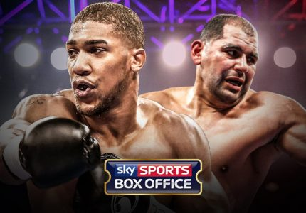 Anthony Joshua vs. Eric Molina live on TalkTalk TV