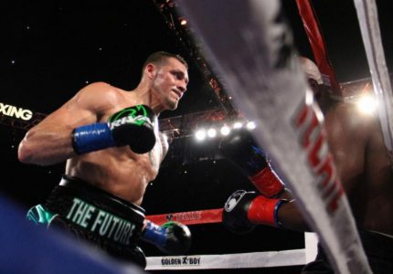 Joe Smith Jr. the first fighter to TKO Bernard Hopkins