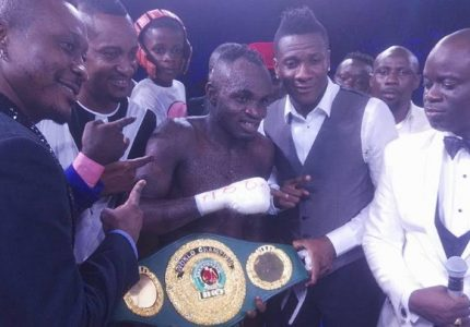 Tagoe dominates Fana to win IBO Lightweight title – Results