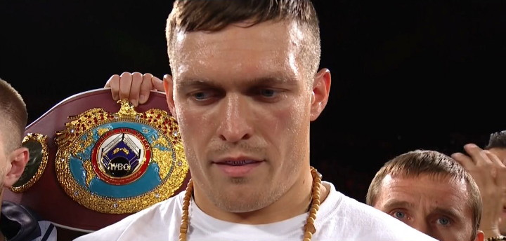 Thabiso Mchunu - WBO cruiserweight champion Oleksandr  Usyk (11-0, 10 KOs) used a combination of boxing and punching to stop contender Thabiso Mchunu, (17-3, 11 KOs) in round nine after knocking him down three times in their fight at the Forum in Inglewood, California. While the boxing fans at ringside wanted to see the 29-year-old Usyk slug, he focused instead on winning rounds and landing fast combinations to bewilder the 28-year-old Mchunu.