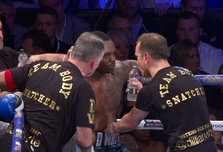 Dereck Chisora Dillian Whyte Boxing News Boxing Results