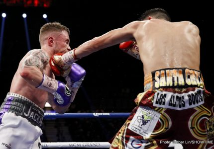 Carl Farmpton says he's unable to watch his losing fight with Santa Cruz, but confirms talks are already underway for the rubber-match