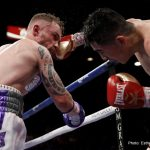 Carl Frampton - Although it wasn't the after-fight party he and his passionate fans were hoping for, Irish superstar Carl Frampton kept his word and met many of his fans for a post-fight drink on Sunday, after his close loss to Leo Santa Cruz.