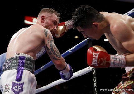 Carl Frampton: It's about how you come back; I do not believe there is a man who could beat me in Belfast