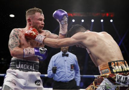 Leo Santa Cruz decisions Carl Frampton