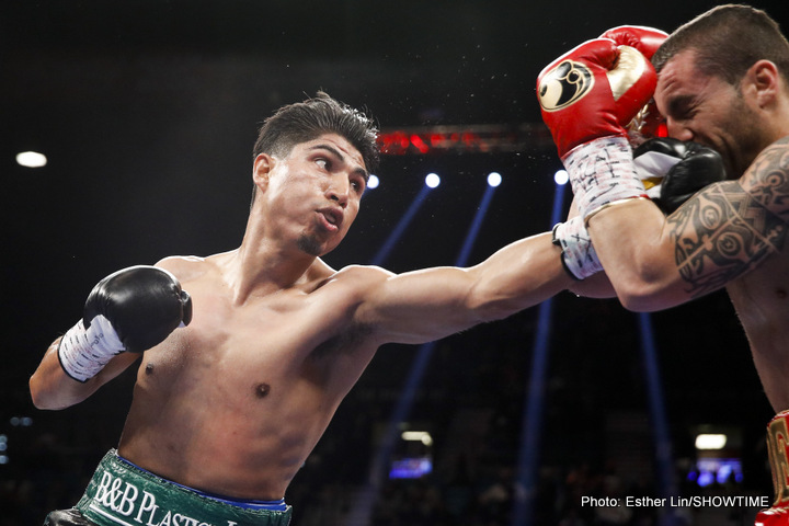 Mikey Garcia, Terence Crawford - Just after his hugely impressive, even scary KO win over a previously unbeaten Dejan Zlaticanin, Mike Garcia spoke about the possibility of moving up to 140 pounds, in search of a fourth world title in as many weights.
