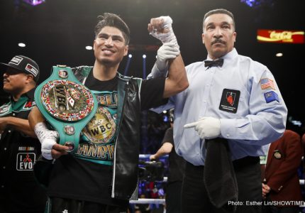 Mikey Garcia open to big fights in the UK; talks Flanagan, Crolla-Linares winner, Campbell