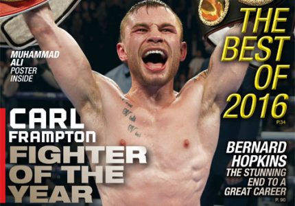 Carl Frampton named RING Magazine 2016 Fighter of the Year