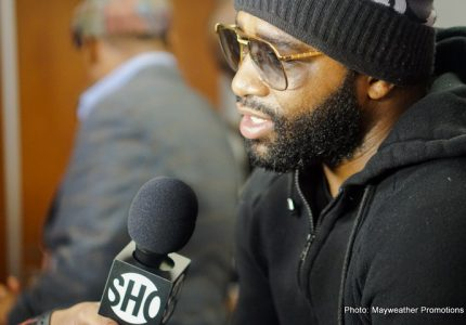 "Adrien Broner predicts ""enormous year,"" says he'd come to UK to fight Ricky Burns"