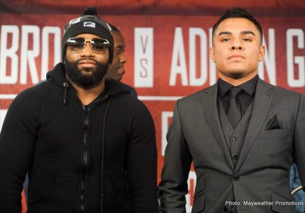 Broner-Granados quotes for Feb.18