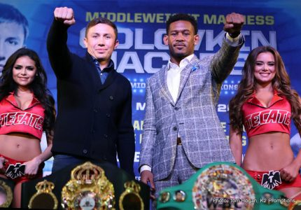 Gennady Golovkin – Daniel Jacobs LA &  NYC Quotes, Photos