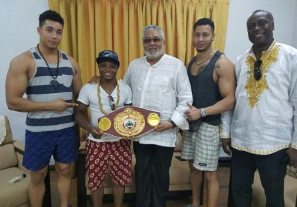 Emulate Azumah and set your own standards – Rawlings tells Dogboe