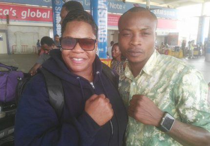 US female boxing promoter lands in Accra for 'Night of the Best' amateur show Friday
