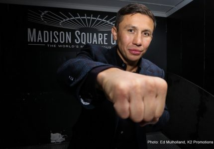 Watch: Gennady Golovkin in New York