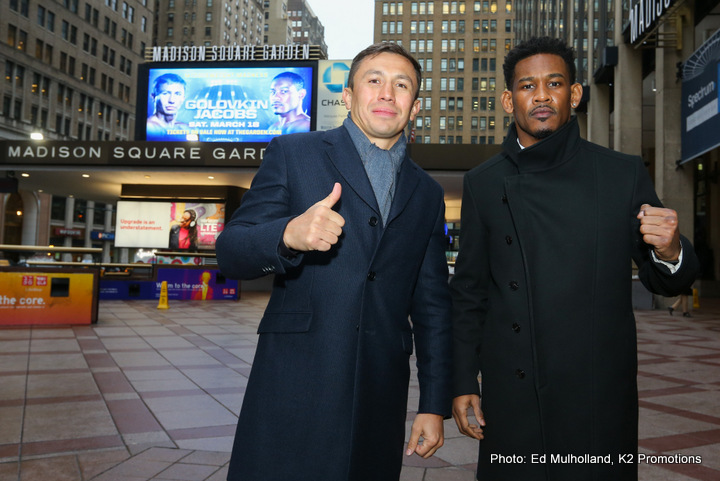 Chris Algieri Daniel Jacobs Gennady Golovkin Boxing News