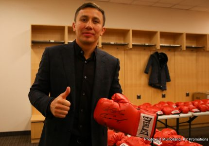 Will a Gennady Golovkin-Chris Eubank Jr. fight really happen this year?