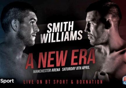 Liam Smith Doesn't Think Williams Is Ready – Joe Gallagher