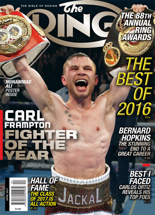Carl Frampton Boxing News