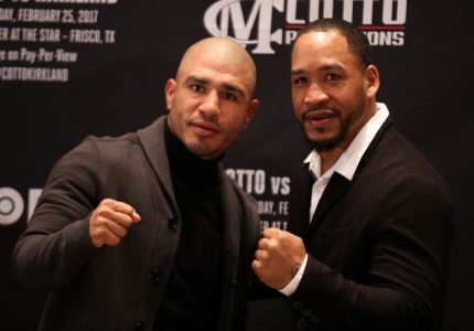 Cotto vs. Kirkland quotes for Feb.25 fight