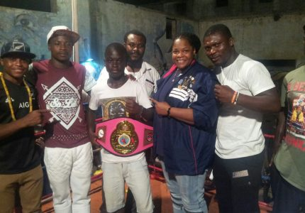 Azumah supports 'Night of the Best' amateur boxing show in Accra