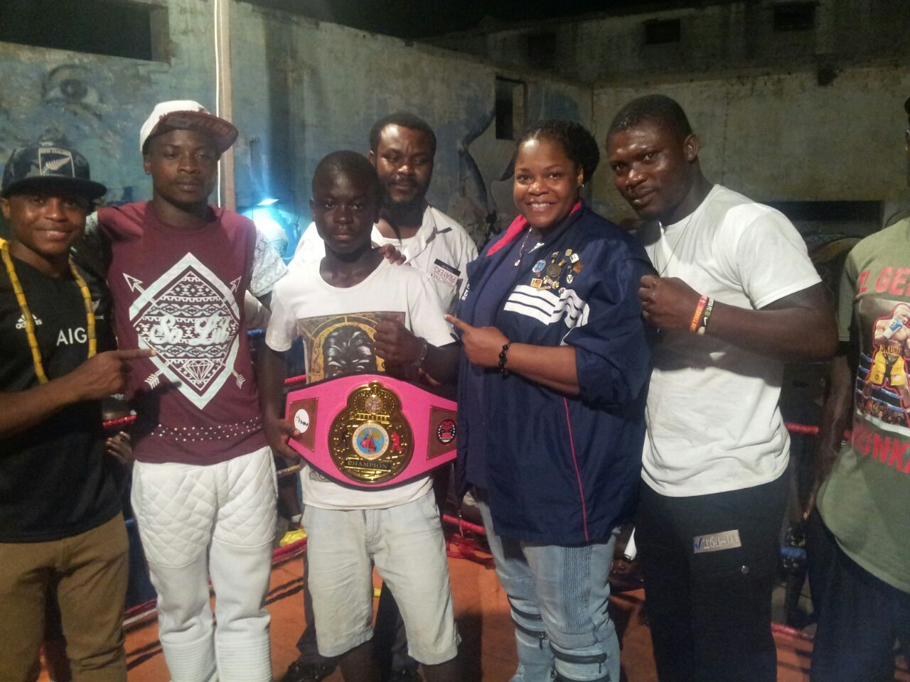 - Former boxer, Emmanuel Adotei Addo's Night of the Best' amateur boxing show and talent hunt received a massive boost when the legend himself, Azumah Nelson showed up to lend first hand support at Bukom on Friday evening.