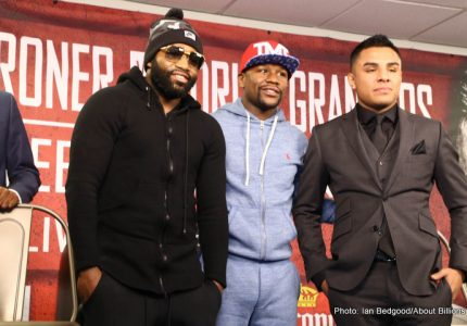 Broner vs Granados on Feb 18 – Broner Interview