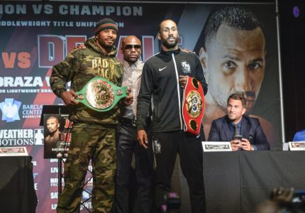 Floyd Mayweather: James DeGale is the best fighter in the UK right now