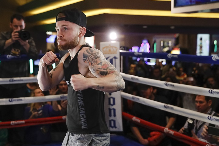 Earlier today, former WBA featherweight king Carl Frampton surprisingly failed to make weight for tomorrow night's fight with Mexico's Andres Gutierrez. The featherweight contest, originally a WBC final eliminator for both men, is now only a eliminator for Gutierrez. Frampton came in one-pound above the 126 pound limit.