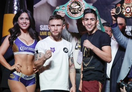Carl Frampton 125 vs. Leo Santa Cruz 125 – Weights
