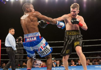 Results: Lara stops Foreman – Photo Gallery