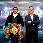 Anthony Crolla - WBA Lightweight World Champion Jorge Linares and former titlist Anthony Crolla held a press conference on Tuesday in Manchester, England, to formally announce their upcoming rematch on Saturday, March 25 live on SHOWTIME from Manchester Arena.