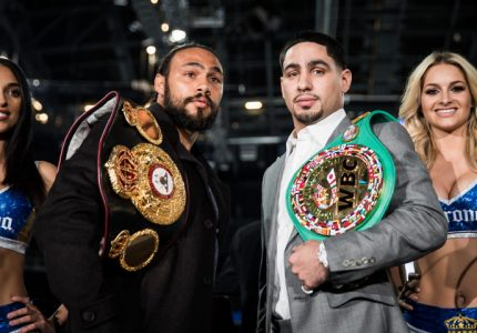 Thurman-Garcia press conference quotes for March 4 at Barclays Center