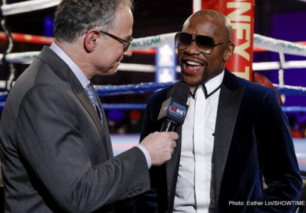 Seven years ago today: Floyd Mayweather got hit harder than at any other time in his career