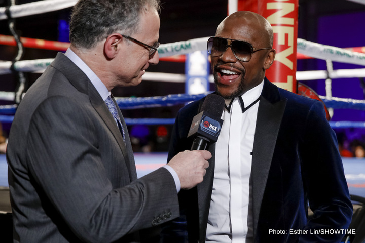 Floyd Mayweather Jr Shane Mosley Boxing History Boxing News