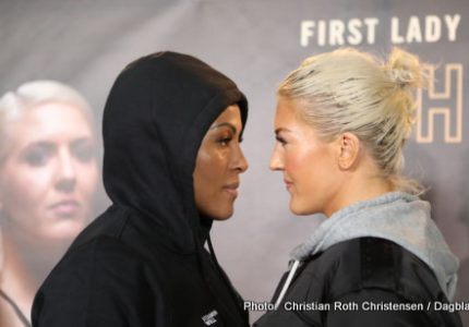 Cecilia Braekhus vs. Klara Svensson on Friday