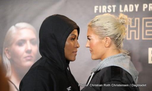 Cecilia Braekhus Klara Svensson Boxing News