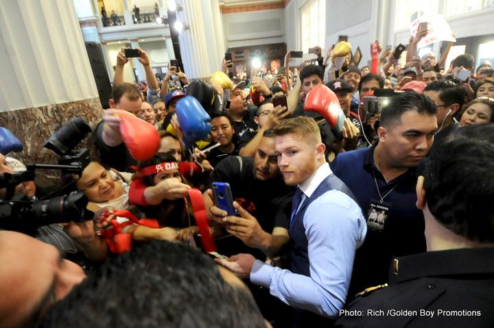 """Julio Cesar Chavez Jr. Saul """"Canelo"""" Alvarez Boxing Interviews Boxing News"""