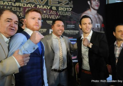 Canelo vs Chavez Jr. quotes for LA tour