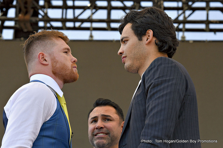 "Julio Cesar Chavez Jr. Saul ""Canelo"" Alvarez Boxing News Top Stories Boxing"