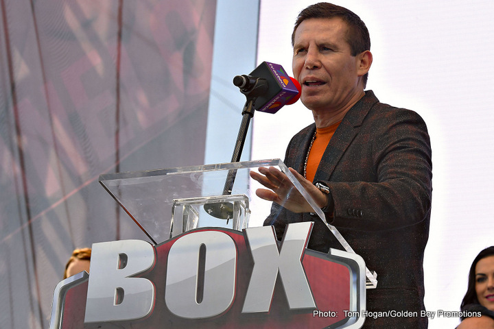 Julio Cesar Chavez Boxing History Boxing News