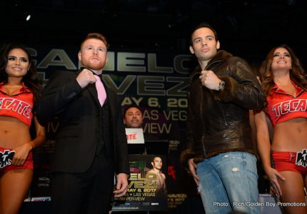 Canelo and Chavez Jr. bet their fight purses for May 6 showdown!
