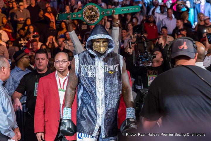 """Deontay Wilder Jarrell """"Big Baby"""" Miller Luis Ortiz Boxing News"""