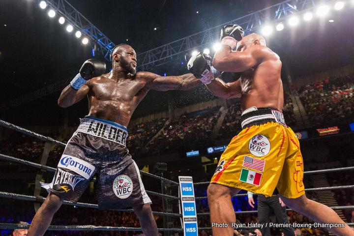 Anthony Joshua Deontay Wilder Wladimir Klitschko Boxing Interviews Boxing News Top Stories Boxing