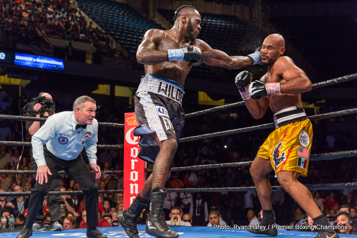 """Bermane Stiverne - Luis """"King Kong"""" Ortiz (27-0, 24 KOs) is now officially out for November 4 against WBC heavyweight champion Deontay """"Bronze Bomber"""" Wilder (38-0, 37 KOs) for the Barclays Center in Brooklyn, New York. Former WBC champion Bermane Stiverne (25-2, 21 KOs) will slide up from the co-feature spot on the November 4 card to face Wilder in the main event."""